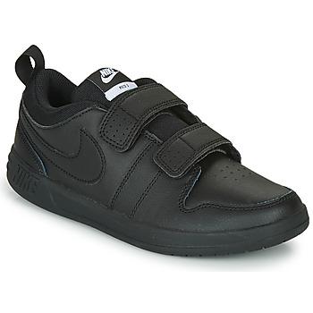 kengät Lapset Matalavartiset tennarit Nike PICO 5 PS Musta