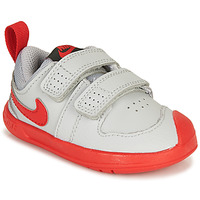 kengät Pojat Matalavartiset tennarit Nike PICO 5 TD Grey / Red
