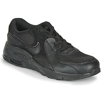 kengät Lapset Matalavartiset tennarit Nike AIR MAX EXEE PS Musta