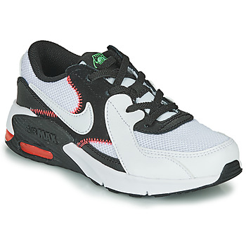 kengät Pojat Matalavartiset tennarit Nike AIR MAX EXCEE PS Black / White