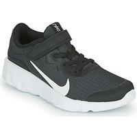 kengät Lapset Matalavartiset tennarit Nike EXPLORE STRADA PS Musta / Valkoinen