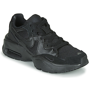 kengät Lapset Matalavartiset tennarit Nike AIR MAX FUSION GS Black