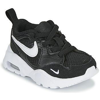 kengät Lapset Matalavartiset tennarit Nike AIR MAX FUSION TD Black / White
