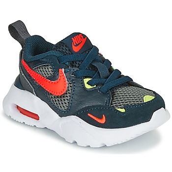 kengät Pojat Matalavartiset tennarit Nike AIR MAX FUSION TD Blue / Yellow / Red