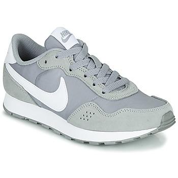 kengät Lapset Matalavartiset tennarit Nike MD VALIANT GS Harmaa / Valkoinen