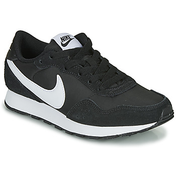 kengät Lapset Matalavartiset tennarit Nike MD VALIANT PS Black / White