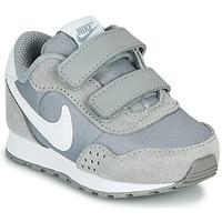 kengät Lapset Matalavartiset tennarit Nike MD VALAINT TD Grey / White