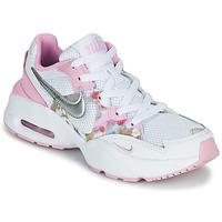 kengät Tytöt Matalavartiset tennarit Nike AIR MAX FUSION SE GS White / Pink