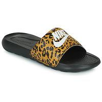 kengät Naiset Rantasandaalit Nike Nike Victori Print (Name Not Legal) Ruskea / Musta