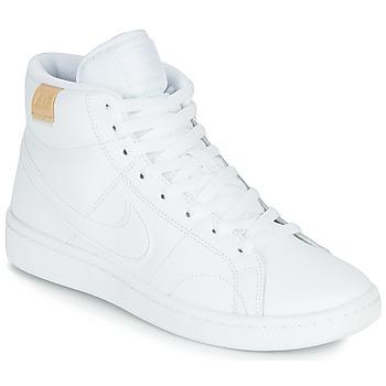 kengät Naiset Matalavartiset tennarit Nike COURT ROYALE 2 MID Valkoinen
