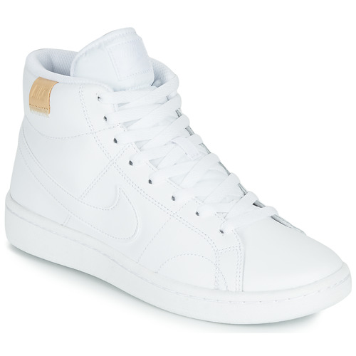 kengät Naiset Matalavartiset tennarit Nike COURT ROYALE 2 MID White