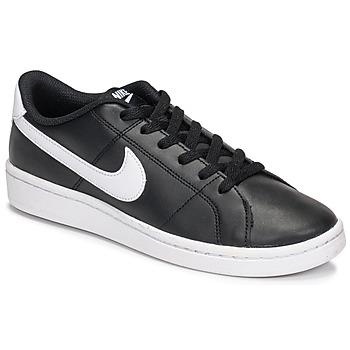 kengät Naiset Matalavartiset tennarit Nike Court Royale 2 Musta / Valkoinen