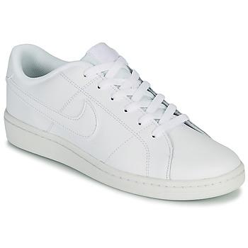 kengät Miehet Matalavartiset tennarit Nike COURT ROYALE 2 LOW Valkoinen