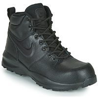 kengät Lapset Matalavartiset tennarit Nike MANOA LTR GS Black