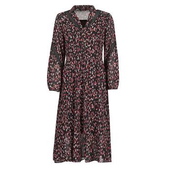 vaatteet Naiset Pitkä mekko One Step FR30121 Musta