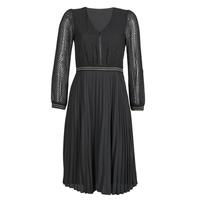 vaatteet Naiset Lyhyt mekko One Step FR30061 Musta