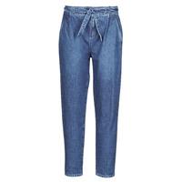 vaatteet Naiset 5-taskuiset housut One Step FR29091_46 Sininen