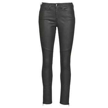 vaatteet Naiset 5-taskuiset housut One Step FR29031_02 Musta