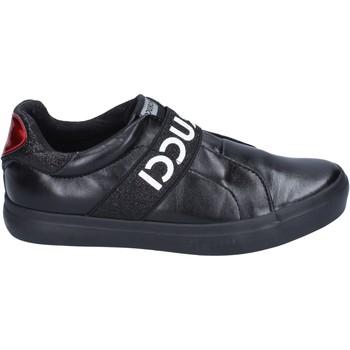 kengät Tytöt Tennarit Fiorucci slip on pelle sintetica Nero