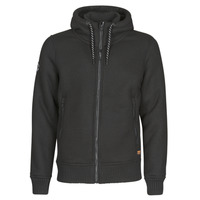 vaatteet Miehet Pusakka Superdry EXPEDITION ZIP THRU Black