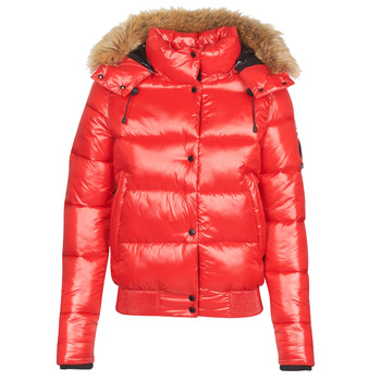 vaatteet Naiset Toppatakki Superdry HIGH SHINE TOYA BOMBER Red
