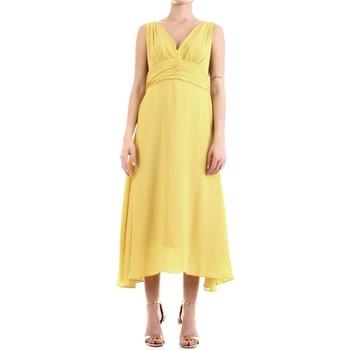 vaatteet Naiset Pitkä mekko Fly Girl 9845-01 Lime