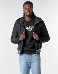 vaatteet Miehet Pusakka Emporio Armani 6H1BL6 Black