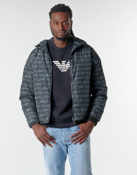 vaatteet Miehet Pusakka Emporio Armani 6H1BN6 Black