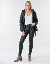 vaatteet Naiset 5-taskuiset housut Emporio Armani 6H2J20 Black