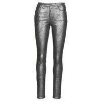 vaatteet Naiset 5-taskuiset housut Emporio Armani 6H2J20 Harmaa / Hopea