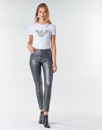 vaatteet Naiset 5-taskuiset housut Emporio Armani 6H2J20 Grey / Hopea