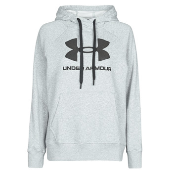 vaatteet Naiset Svetari Under Armour RIVAL FLEECE LOGO Grey