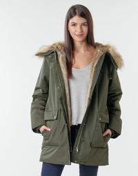vaatteet Naiset Parkatakki Esprit LL*3M FEM PARKA Khaki