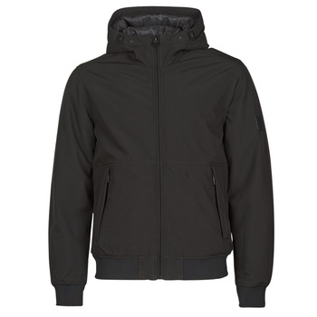 vaatteet Miehet Toppatakki Esprit LL 3LSOFTSHEL Musta