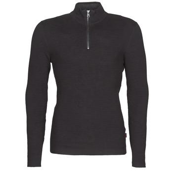 vaatteet Miehet Neulepusero Esprit COWS STR HZ Black