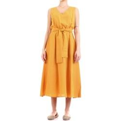 vaatteet Naiset Pitkä mekko Fly Girl 9890-02 Giallo