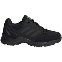 kengät Lapset Vaelluskengät adidas Originals Terrex Hyperhiker Low K Mustat