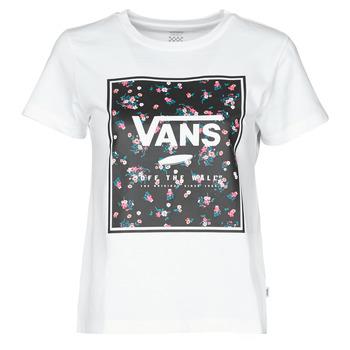 vaatteet Naiset Lyhythihainen t-paita Vans BOXED IN BOXY White
