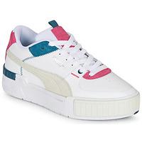 kengät Naiset Matalavartiset tennarit Puma CALI SPORT White / Grey