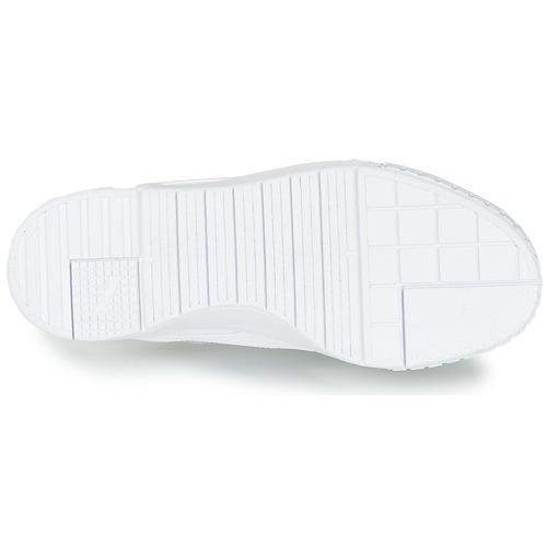 Puma Cali Sport White - Ilmainen Toimitus- Kengät Matalavartiset Tennarit Naiset 103