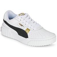kengät Naiset Matalavartiset tennarit Puma CALI VARSITY Valkoinen / Musta