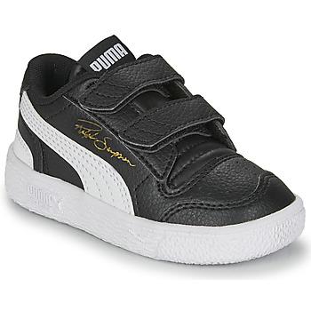 kengät Lapset Matalavartiset tennarit Puma RALPH SAMPSON LO INF Black / White