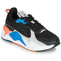 kengät Lapset Matalavartiset tennarit Puma RS-X MONDAY JR Black / Blue / Red