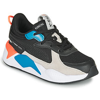kengät Lapset Matalavartiset tennarit Puma RS-X MONDAY PS Black / Blue / Red