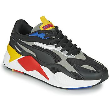 kengät Matalavartiset tennarit Puma RS-X3 Musta / Punainen / Keltainen