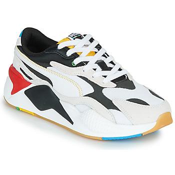 kengät Matalavartiset tennarit Puma RS-X3 Unity Collection Valkoinen / Musta / Punainen
