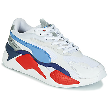 kengät Miehet Matalavartiset tennarit Puma RSX BMW White / Red / Blue