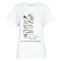 vaatteet Naiset Lyhythihainen t-paita Replay W3509D Valkoinen