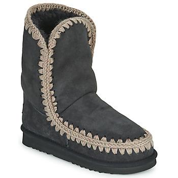 kengät Naiset Bootsit Mou ESKIMO 24 Black