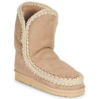 kengät Naiset Bootsit Mou ESKIMO 24 Beige